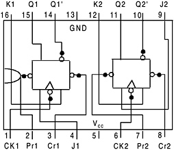 appendix 3 pin configuration of 74 series integrated circuits rh globalspec com 7476 with S R LEGO 7476